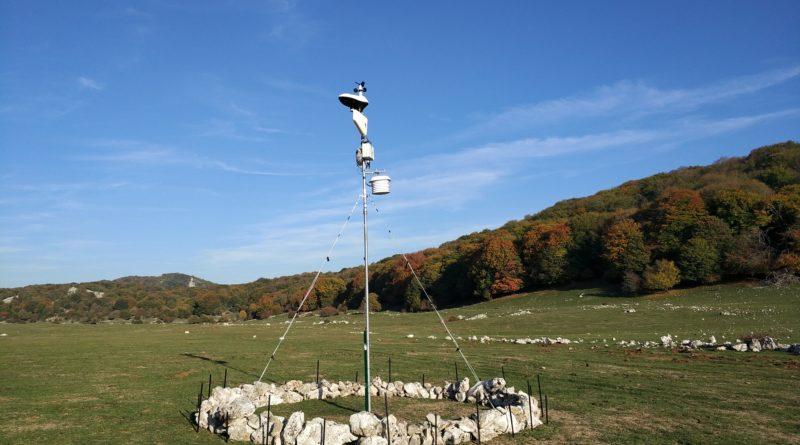 Stazione meteo Monte Gennaro a Ottobre 2017