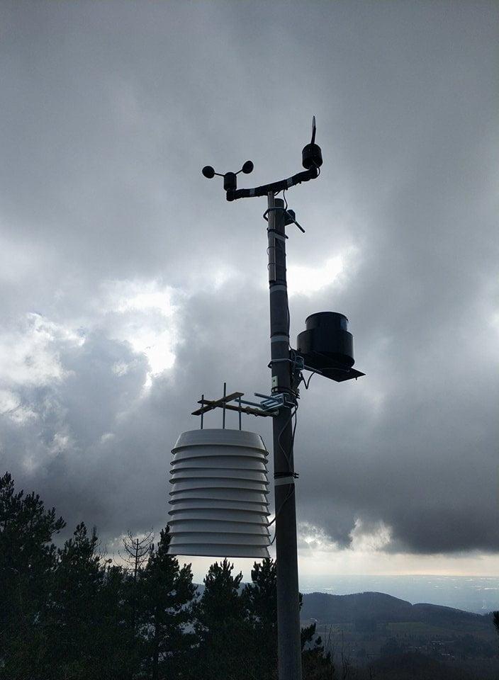 stazione meteo PCE