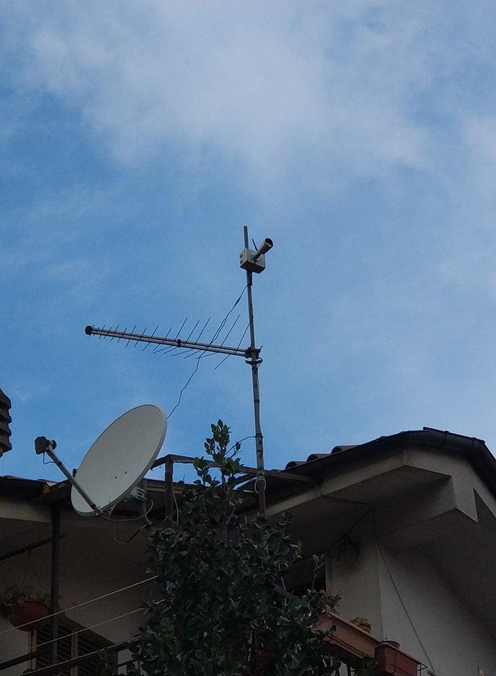 webcam vista da sotto