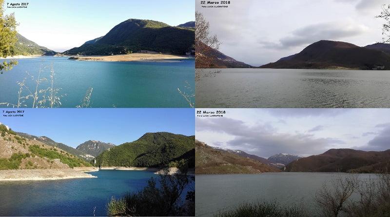 L'incredibile reportage del Lago del Salto: dall'estate 2017 alla primavera 2018