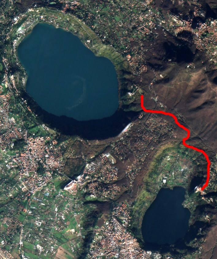 Il percorso proposto per il Castelli Green Tour