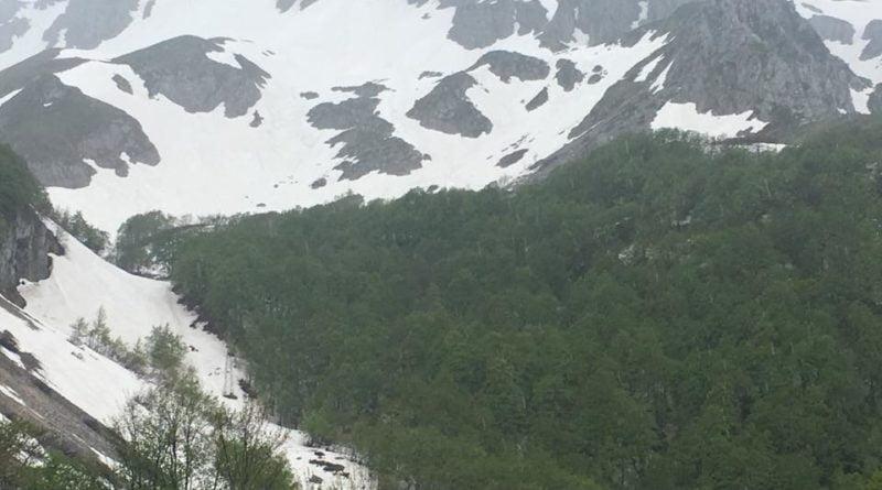La vista della montagna
