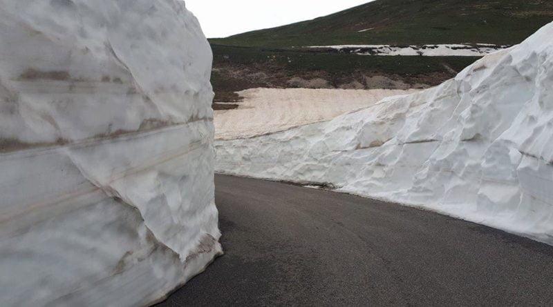 Riapre ufficialmente la SP10 pulita dalla neve
