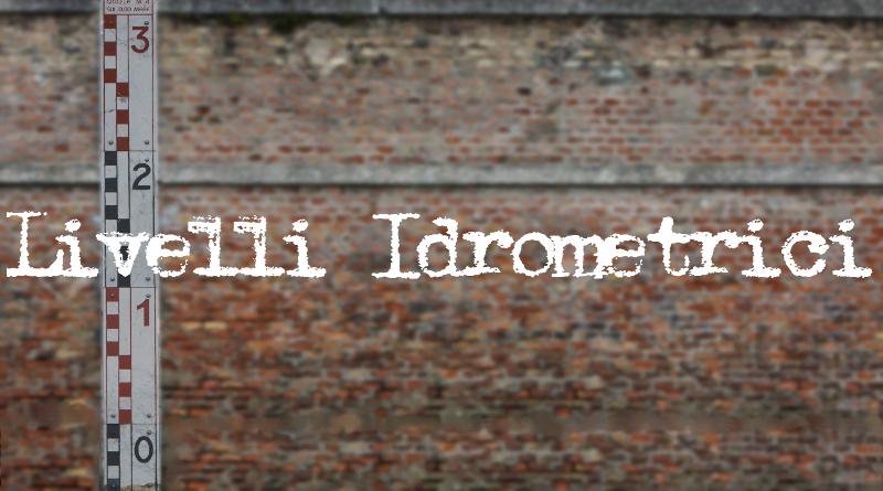 Livelli idrometrici