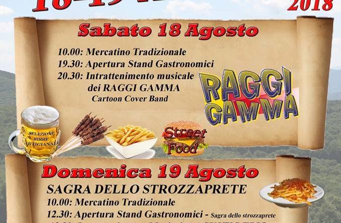 5' Festa dei Faggi - Associazione Simbrulife - Campaegli (RM)