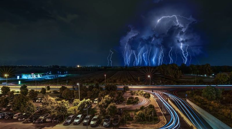 Intenso passaggio temporalesco sull'Alto Lazio tra il 6 ed il 7 Settembre