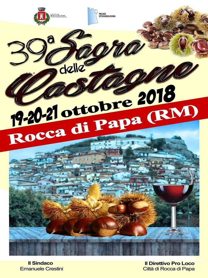 39esima Sagra delle Castagne Rocca di Papa (RM) - Meteo Lazio