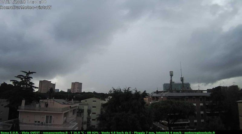 Ennesima giornata di pioggia, Novembre segue il precedente registro