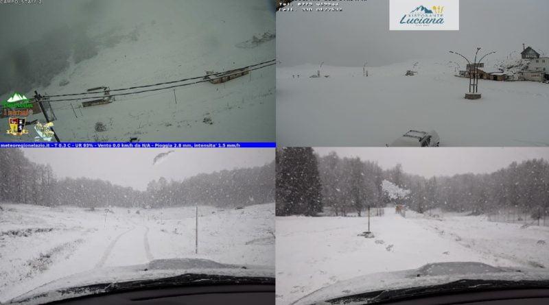 [Gallery] Appennino Laziale la neve fa un rapido ritorno