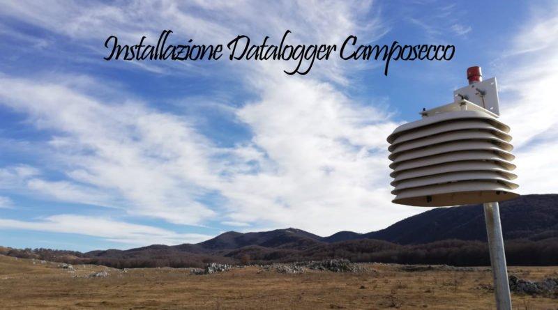 Installazione datalogger Prato e Coste di Camposecco