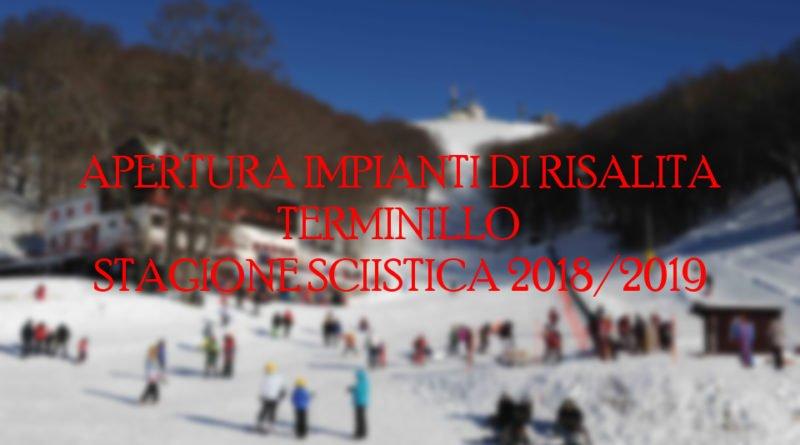 Apertura impianti sciistici del Terminillo 2018-2019