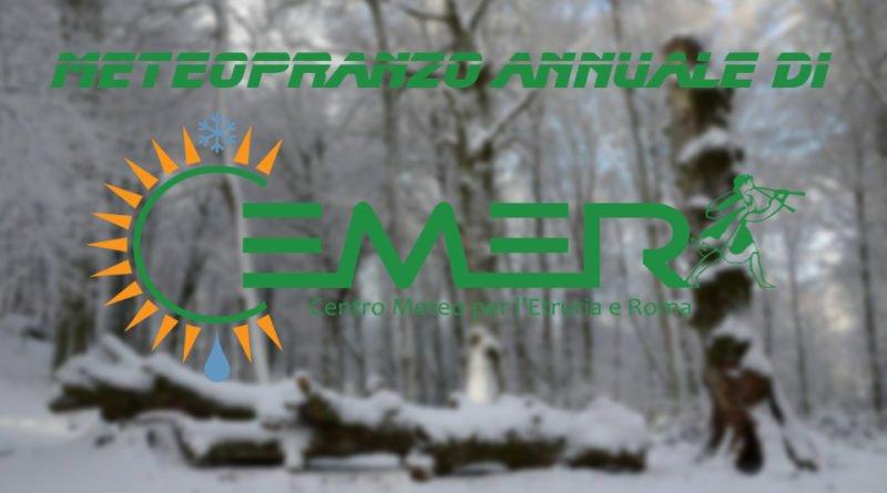 Meteopranzo annuale di Cemer.it - 03 Febbraio 2019