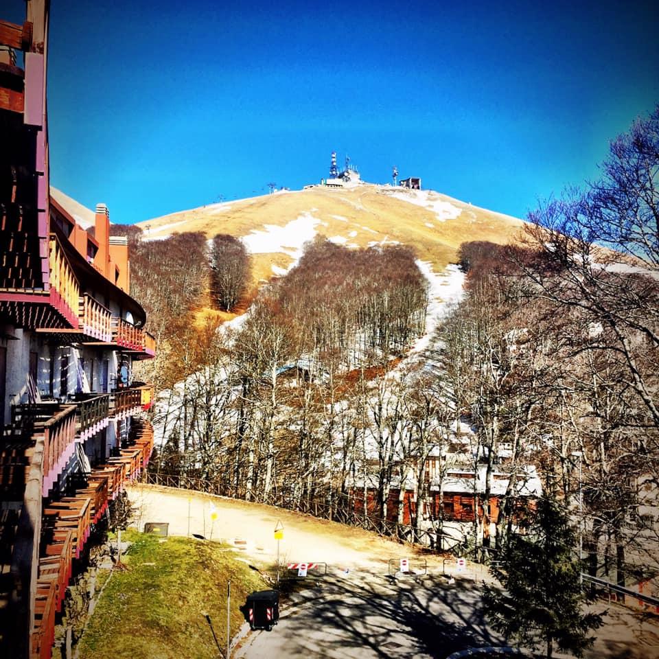 Situazione neve a Pian De' Valli - Terminillo 25 Marzo 2019