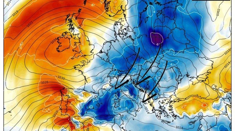 Veloce peggioramento in settimana rivedremo finalmente la pioggia
