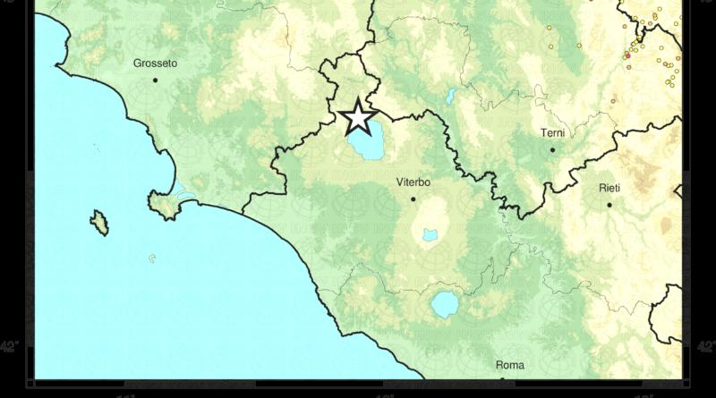 Scossa di terremoto 2.9 con epicentro Grotte di Castro (VT)