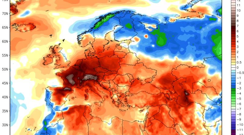 2 nuovi record storici di caldo per il mese di Giugno