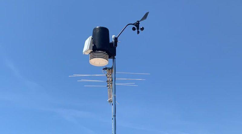 Installazione stazione meteo di Montalto Marina (VT)