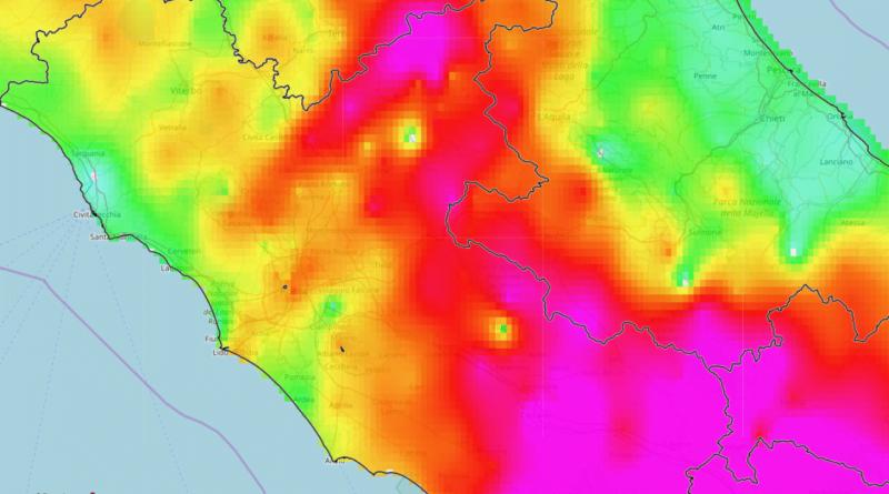 Accumuli di pioggia peggioramento 2-3 Novembre 2019 (2)