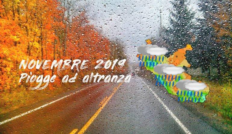 Autunno 2019 in grande stile, ancora piogge e clima uggioso