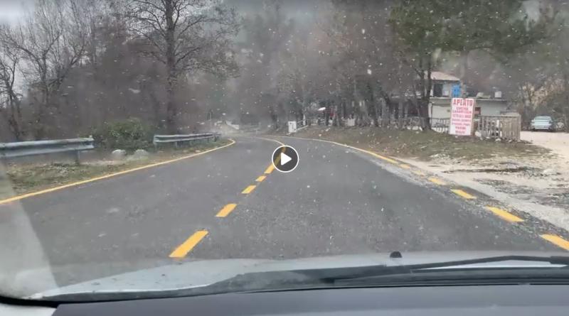 Neve LIVE sul Lazio con la perturbazione di fine anno, ecco DOVE - copertina