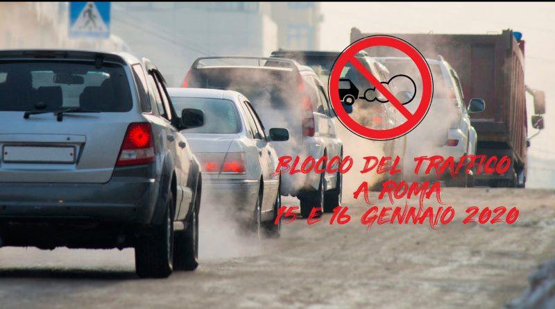 Proroga del blocco del traffico a Roma i dettagli per il 15 ed il 16 Gennaio