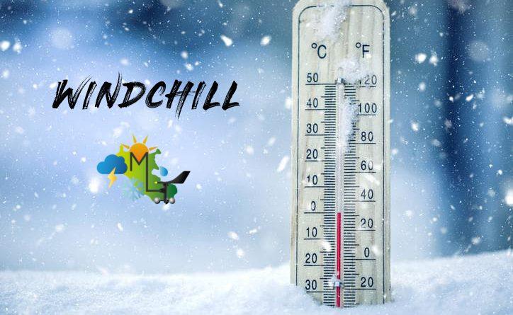 Il windchillwind-chill o temperatura percepita da raffreddamento