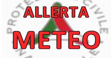 ALLERTA METEO – innalzata a CODICE ARANCIONE per il 25 Settembre