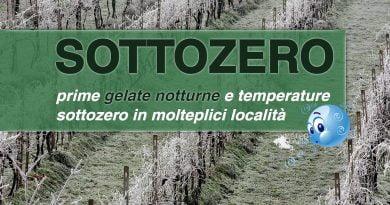 Temperature SOTTOZERO e GELATE MATTUTINE