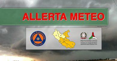 +++ALLERTA ARANCIONE su ROMA e su parte del LAZIO- domenica 06 DICEMBRE 2020