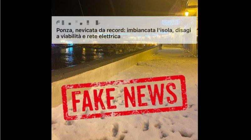 Perché sull'Isola di PONZA non è NEVICATO Analisi dettagliata