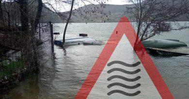 [GALLERY] Situazione PREOCCUPANTE del lago Salto-Turano: mai così ALTI da anni