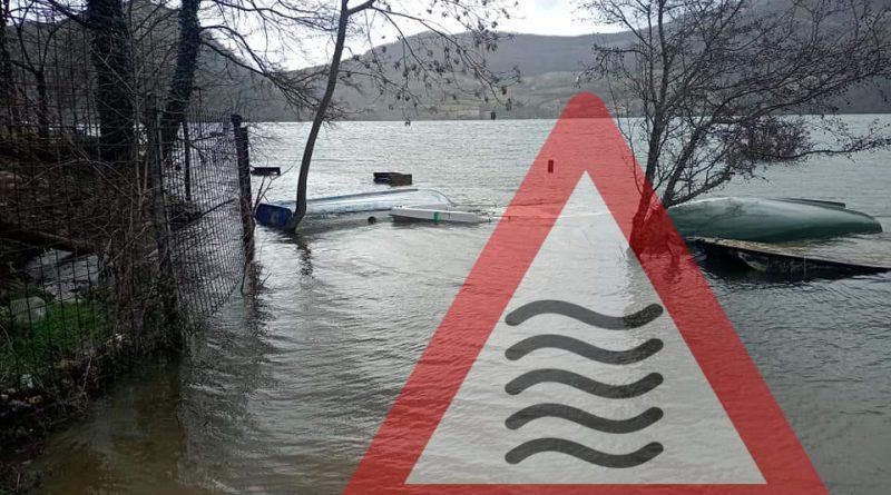 [GALLERY] Situazione PREOCCUPANTE del lago Salto-Turano mai così ALTI da anni