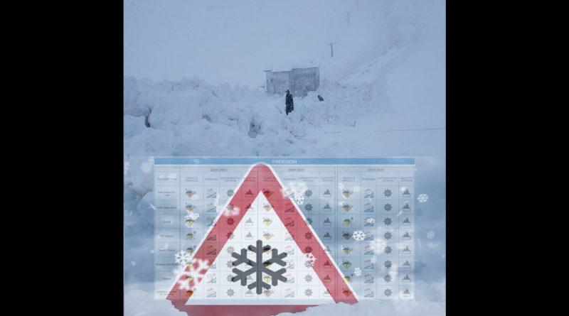 ULTIMA ORA VALANGA sulla SP10 del Monte Terminillo