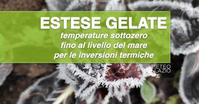 ESTESE GELATE: situazione critica anche in PIANURA e TEMPERATURE fino a -14°C