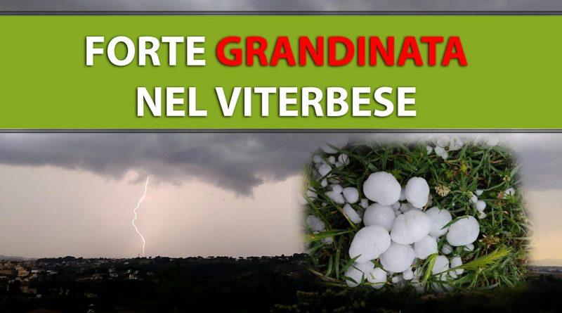 [FOTO] Forte GRANDINATA nel VITERBESE, le IMMAGINI copertina