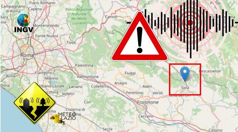 Terremoto in Ciociaria - Sora (FR)
