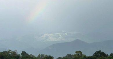 Monte Semprevisa completamente IMBIANCATO dalla grandine come NEVE [VIDEO e GALLERY]